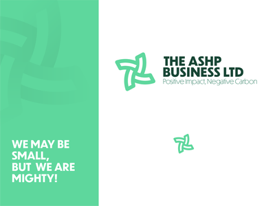 ASHP Business Logo Concept vector ui illustration monogram freelance logo designer freelance logo design typography logo design graphic design branding logo
