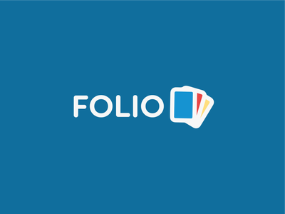 Folio Software Logo Design tech logo smart logo smart lgoo clean logo clean branding clever smart minimal clean minimal branding tech branding monogram design typography graphic design logo software software logo logo design branding