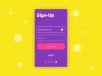 #001 Sign-Up