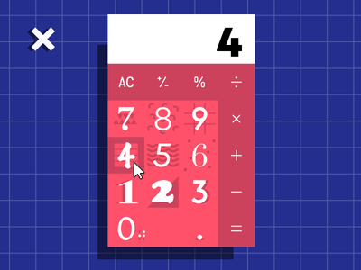 #004 Calculator ui calculator 100 days of ui 004