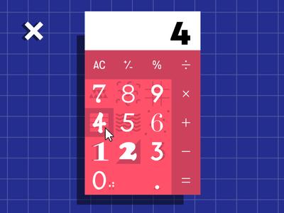 #004 Calculator ui calculator 100 days of ui 004