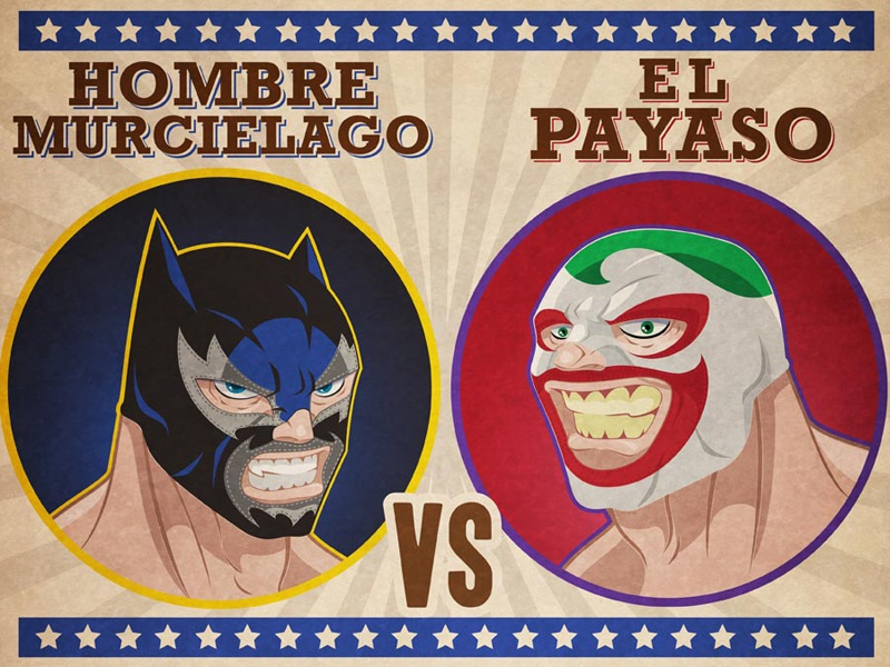 Lucha Libre! by Arnel Baluyot on Dribbble