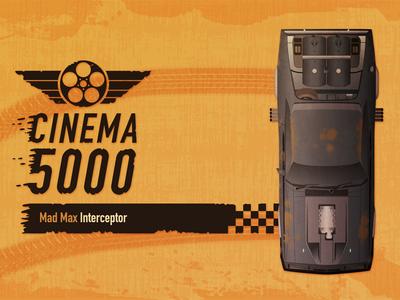 Cinema 5000 - Mad Max Interceptor