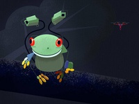 Surveillance Frog