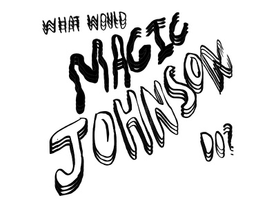 In times of stress do johnson magic would what