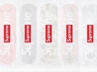 Supreme® x Band-Aid® Collaboration - Bandage Packaging