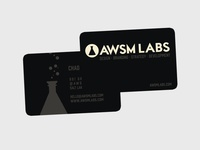 AWSM Labs Business Cards