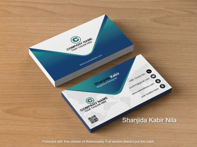 Business card visitingcard id card business card