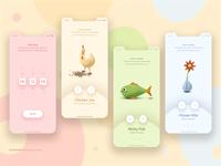 FunkyTimer / Mobile App Concept