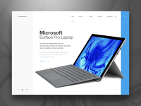 SurfaceProRetailer / Ecommerce Panding Page