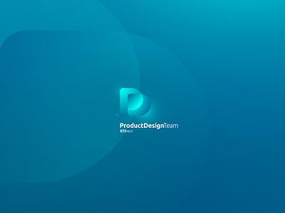 PD Team Logo / Concept logotype user interface creative illustration logo vector uidesign ui ux stx design