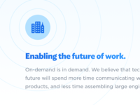Enabling the future of work