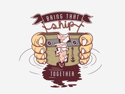 bring that ship together