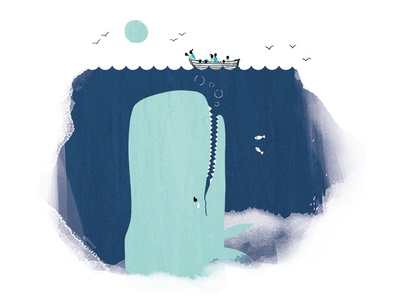 tooth of time character story tooth dentist whale illustration