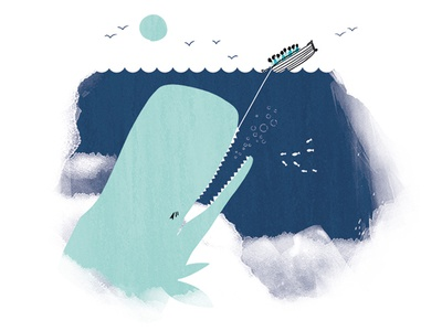 tooth of time 03 character story tooth dentist whale illustration