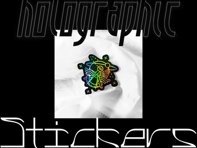 Holographic Stickers - FRCHSHP