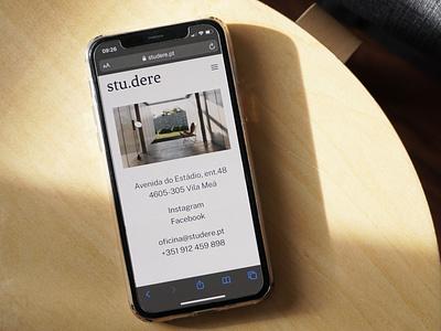 Humana Studere Mobile architecture website minimal design responsive website design website mobile