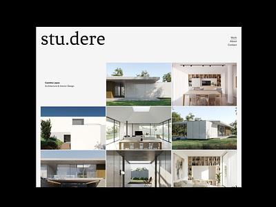 Humana Studere Work 01 minimal photgraphy architecture website responsive website design company website design