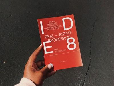 IDE8 Flyer Design