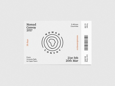 Nomad Convoy Ticket