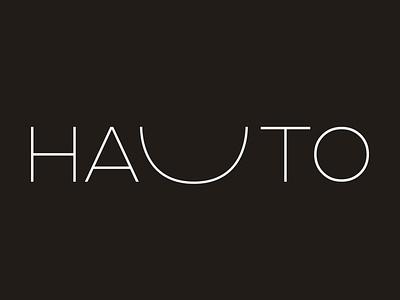 Humana Hauto Logo friendly minimal logotype logo brand identity brand design brand