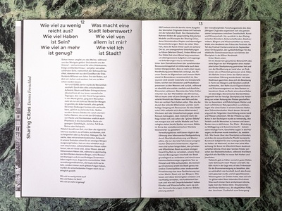 Humana CityLeaks Inside Page graphic design layouts publication design book editorial layout text typography