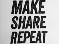 Learn, make, share, repeat.