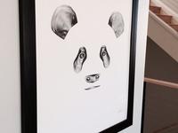 Panda Framed