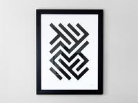 Lines Pattern Print