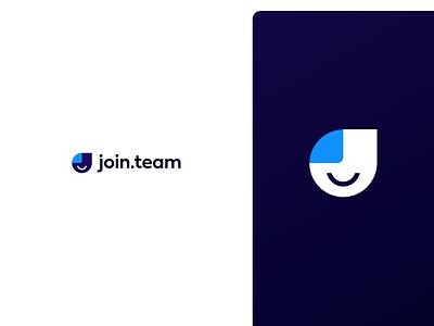 join.team brand recruiting join.team jointeam identity startup mark logotype logo brand logo brand branding brand design brand identity