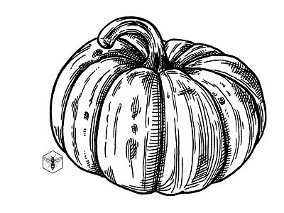 Spice Latte inktober ink halloween veggie pumpkin