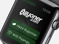 Bilyoner for Apple Watch