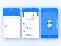 Water order app