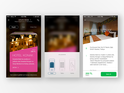 Hotel App travel minimal ecommerce shopping reservation rent hotel card ui booking landing page ux ui