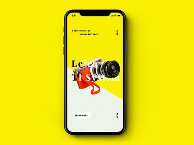 Product Presentation ios 11 iphone x product ux ui presentation pure minimalist minimal flat concept clean app