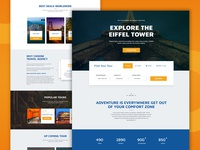 Travel Agency - Tour & Travel Hotel Booking Template