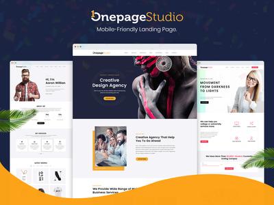 Onepage Studio - Multipurpose Landing Page