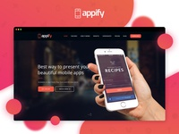 Appify - Multipurpose One Page Mobile App landing page