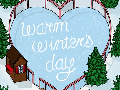 Warm Winter's Day Cover