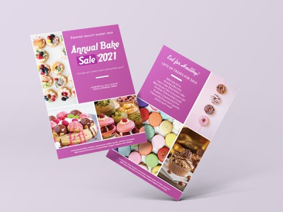 Bakery Poster Flyer flayer design pastry flyer bakery-and-pastry-design branding cake flyer design bakery sweet flyer bakery flyer