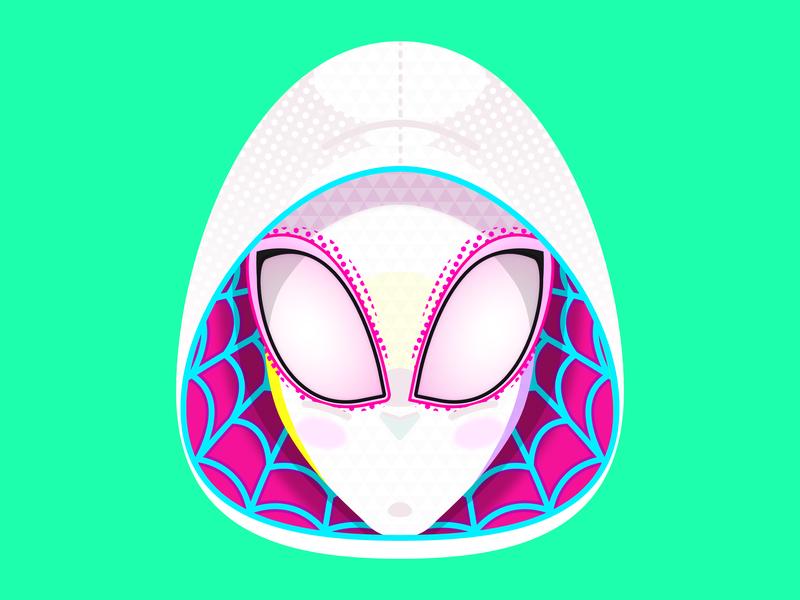 Spider-Gwen illustration