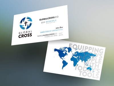 Global Cross Business Cards
