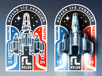 Last Starfighter Badge