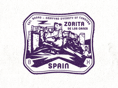 Castle Zorita Passport Stamp