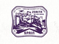 Castle Zorita Passport Stamp