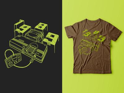 TurboGrafx-16 Shirt