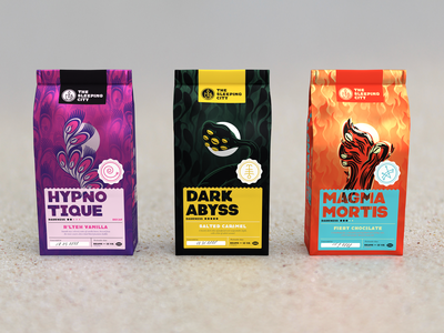 Lovecraftian Coffee Packaging