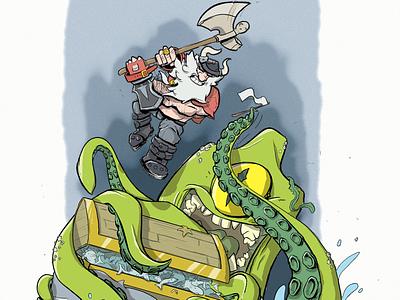 'Treasure' illustration cartoon illustration illustrator cartoon