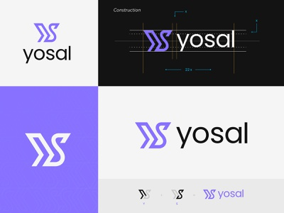 Yosal Logo Identity | Consulting Platform golden ratio logo designer church young youthful handout s logo y logo logo design presentation youth community client work advisor word mark logo consulting logo system logo design process logo construction logo grid letter logo branding logo identity