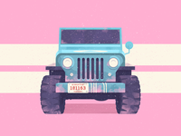 Paintball Willy Jeep